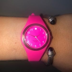 Kate Spade jelly watch